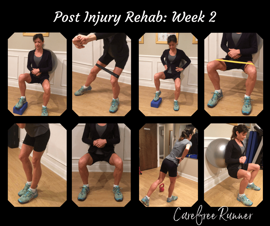 Copy of Post Injury Rehab- Week 2
