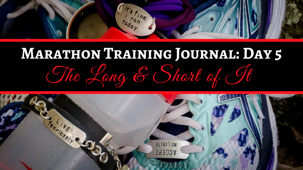 Marathon Training Journal Day 5