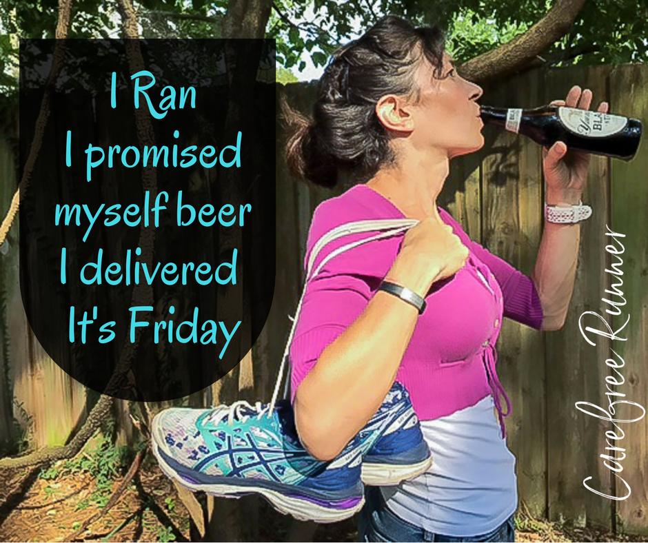 Long run Friday Beer