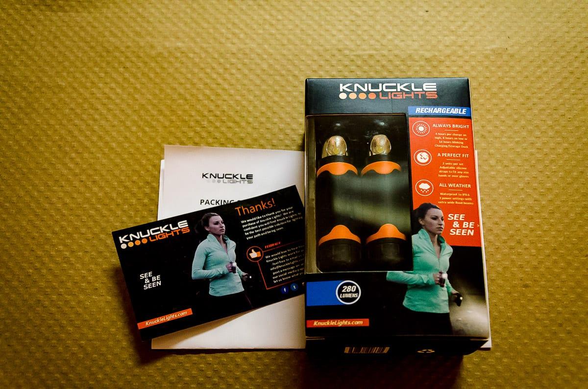 Knuckle Lights packaged