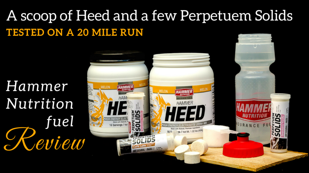Hammer Nutrition Heed & Perpetuem Review