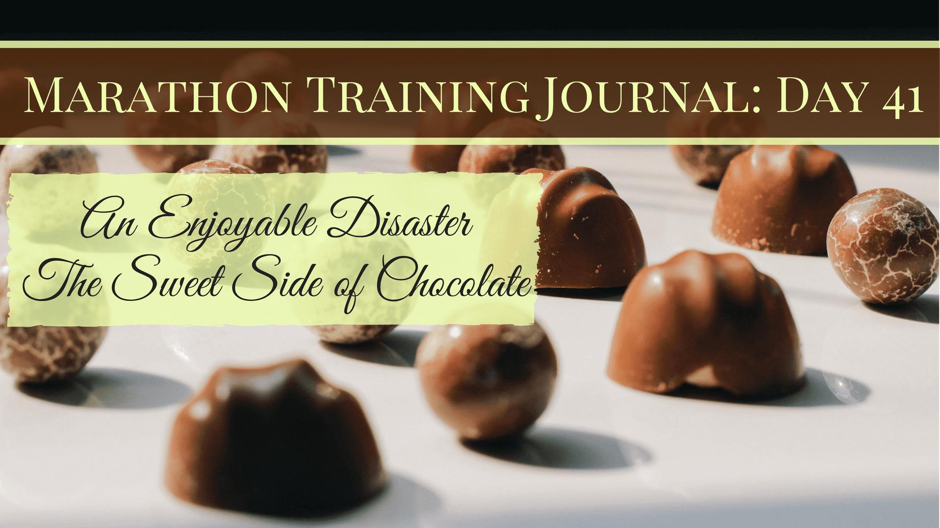 Marathon Training Journal- Day 41