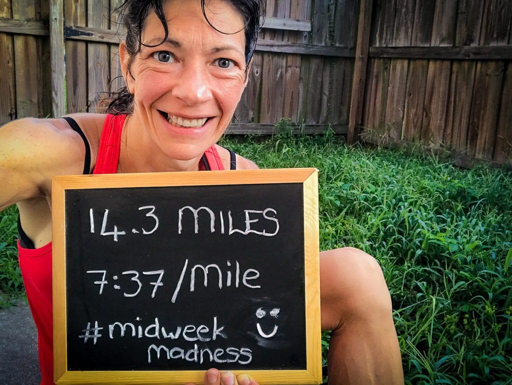 running more miles