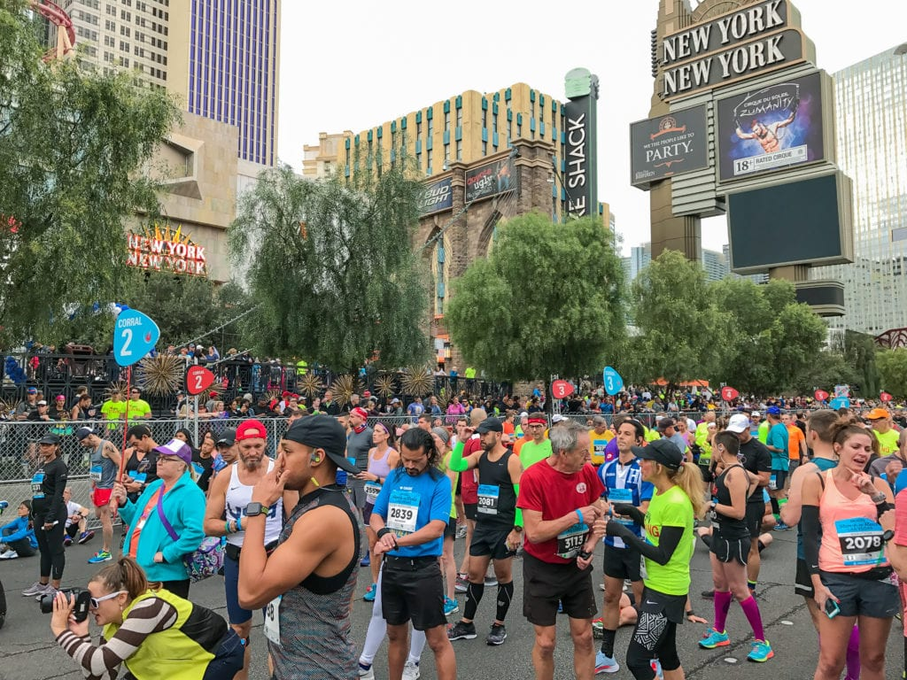 Las Vegas Marathon Fuel Bonk
