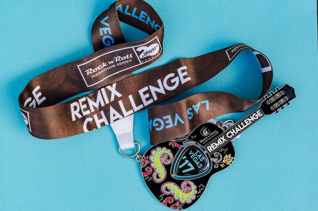 Las Vegas Marathon Medal - Remix Challenge