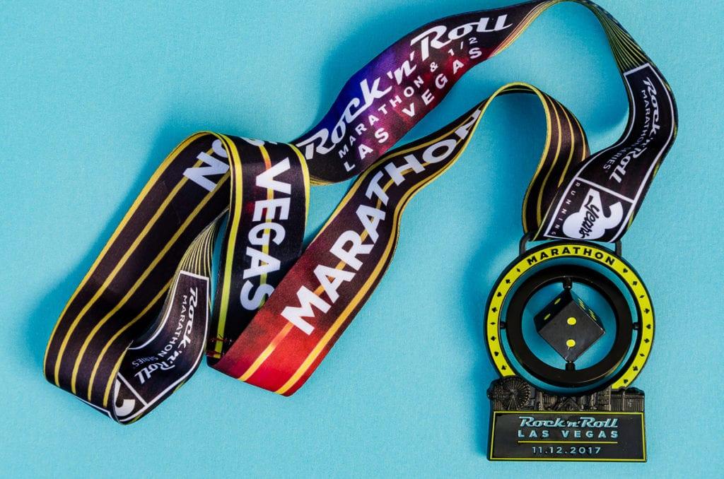 Las Vegas Marathon Medal