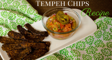 Roasted Tempeh Chips Recipe