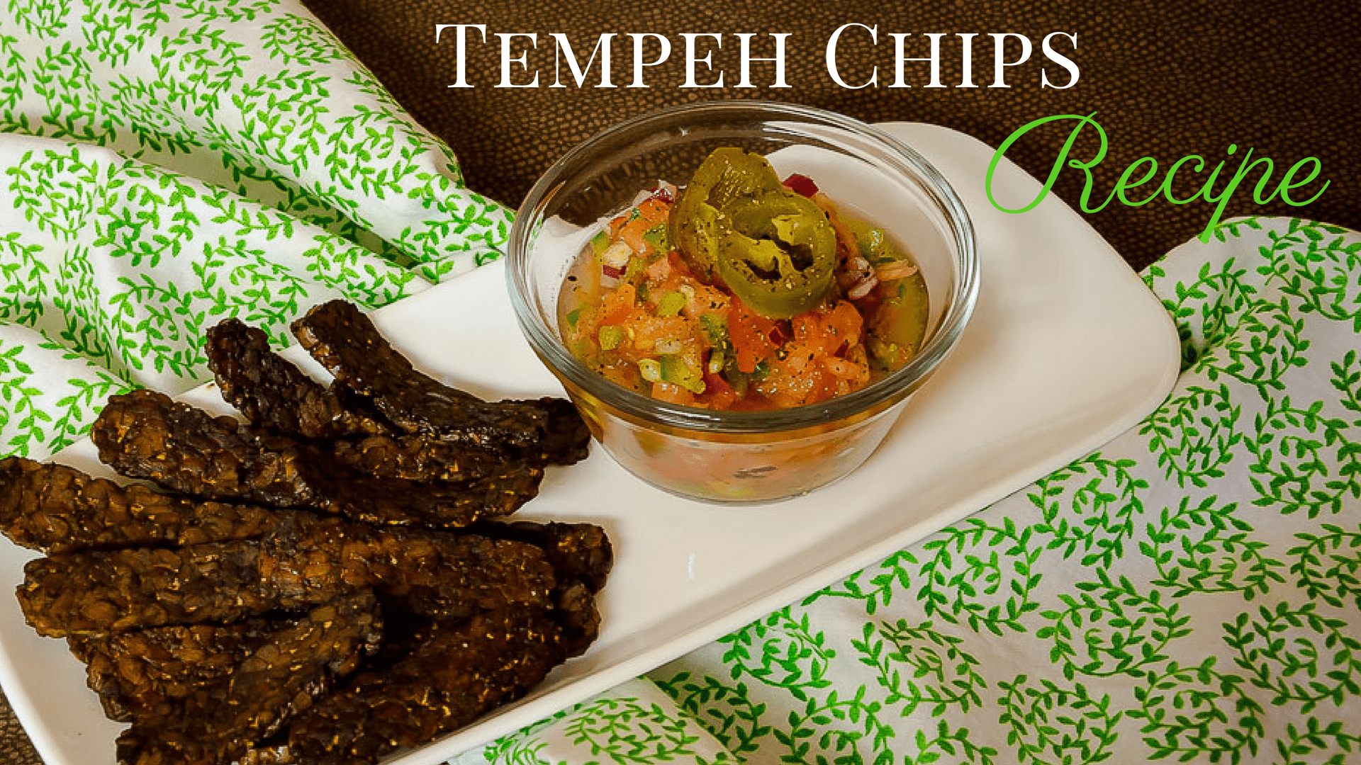 Tempeh Chips Recipe Cover