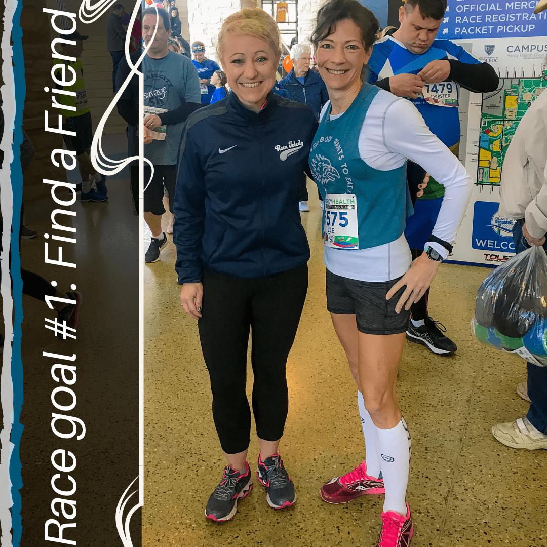 Glass City Marathon 2019 - Marathon on Low Mileage