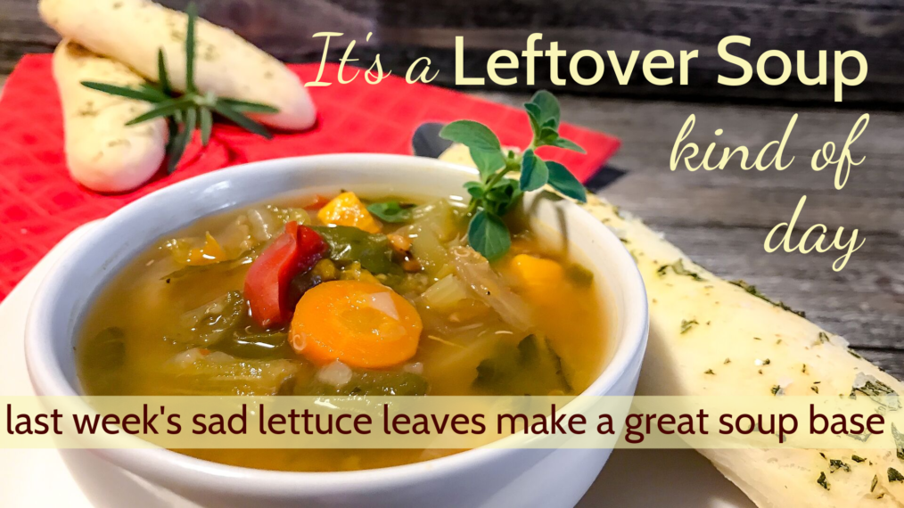 Lettuce and Veggie Soup